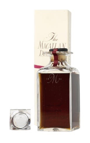Macallan 1962 25 Year Crystal Decanter