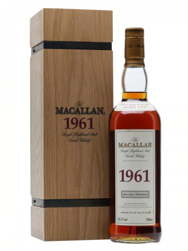 macallan 1961 40 Years old Whisky