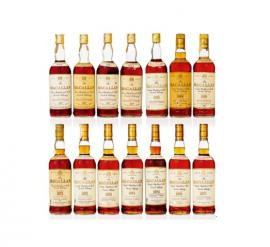 Macallan 18 Year Old collection 1955-1986
