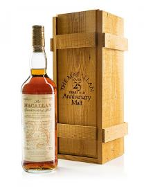 Macallan 1962 25 Year Old Anniversary Malt