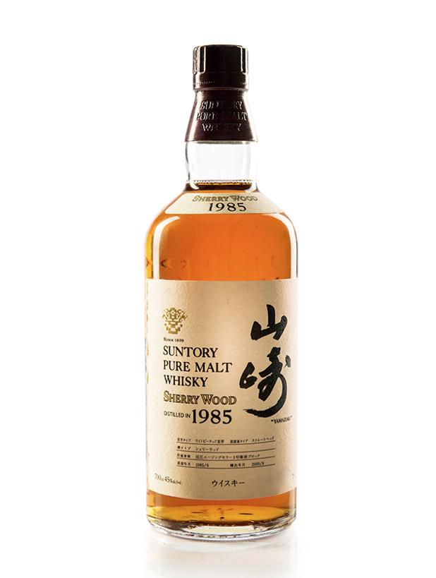 Suntory yamazaki 1985 sherry wood whisky cmonvin buy for 1985 salon champagne